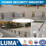Automatic Security Car Parking Warning Retractable Hydraulic Bollard