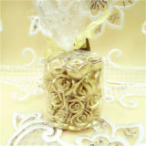 Pillar Candle Glass Jar Scented Soy Wax Christmas Decoration