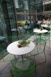 Waterproof Compact Laminate Garden Table Plate