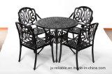 Leisurely Garden 5 Piece Dining Aluminum Furniture W/O Cushion