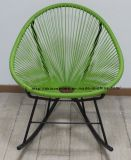 Metal Rattan Outdoor Leisure Rock Acapulco Lounge Chair