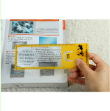 Promotional Bookmark with Ruler Reading Magnifier 3X 6X 187*65mm Hw-803A