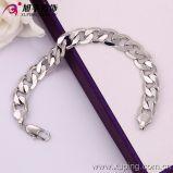 Xuping Rhodium Color Fashion Environmental Copper Bracelet (73571)