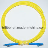 Singlemode Zipcord LC/LC Fiber Optic Patch Cable
