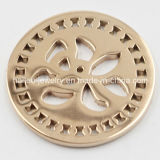 Fashion Stainless Steel Coin Plates Locket Pendant (HL-522)