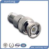 BNC Female (Jack) to Mini UHF Male (Plug) Adapter