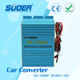Car Power Transformer DC 24V to 12V Electronic Transformer with Good Quality (DC-150AP)