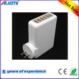 Ce FCC RoHS Approved 6 USB Ports Wall Phone Charger