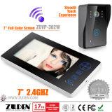 "7"" Touch, 2.4GHz Wireless Video Intercom"