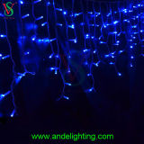 Xmas LED Icicle Lights for Wall/Roof/Wedding/Holiday Decoration