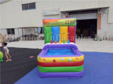 Rainbow Sport Game Series Small Inflatable Floating Ball Shooting Game