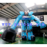 The Inflatable Model of The Robot