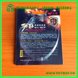 Plastic 0.5mm PVC Clamshell Blister Pack with Paper Card