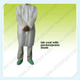Ly Non-Woven SMS Lab Coat