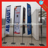Customized Promotional Beach Flags Printing with Poles