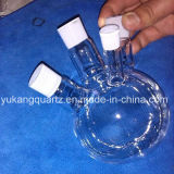 Quartz Boiling Flasks, Round Bottom, with Joints
