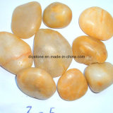 High Quality Yellow Natural Pebble Decorative Stone