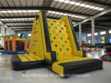 Inflatable Rock Climbing Wall with Slide (AQ1901-1)