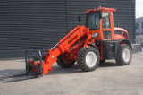 Mini Telescopic Loader Er2000 with Pallet Forks for Sale
