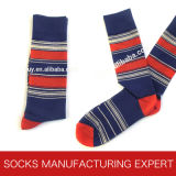 Men′s Colorful Cashmere Sock (UBM-031)