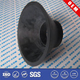 Black Flat Rubber Flexible Suction Cup Hook (SWCPU-R-S698)