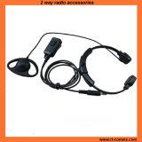 Heavy Duty Throat Microphone with D Shape Earpiece (RTM-023230)