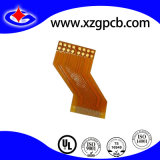 Single Layer Yellow Soldermask FPC with 0.5mm Board Thickness