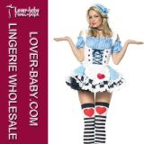 Fancy Alice Costume Lingerie Sexy Club Lingerie (L15273)