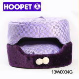 Purple Princess Covered Dog Bed Double Dog Kennel Pet Bed Wholesale