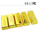 Gold Bar Usbflash Memory Drive Pen Flash Stick U Disk