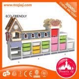 Children 3-Level Storage Cabinet School Cabinet