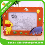 Hot Sale Colorful Rubber Photo Frame (SLF-PF070)