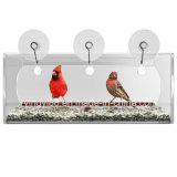 Hanging Clear Large Acrylic Window Bird Feeder