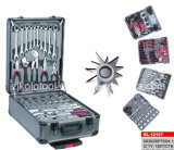 186PC Aluminum Tool Box with Hand Tools