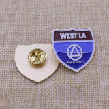Shield Shape Metal Enamel Badge (KQ-LP-06)