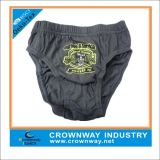 Boys Grey Heat Transfer Printing Hipster/Underwear with Mixed Size