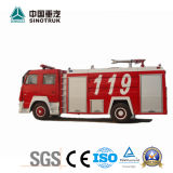 Competive Price HOWO Fire Truck of 8m3