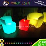 RGB Colorful PE Material LED Lighted Sofa