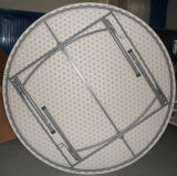 6ft Round Banquet Folding Table for 10person Used