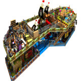 2017 Best Sale Pirate Ship Indoor Commercial Wooden Play House