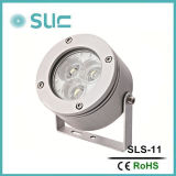 Mini Aluminumn Spot Light with Narrow Beam Mini LED Spot Light Outdoor Project Light 3W