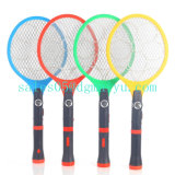 Rechargeable Electric Flashlight Mosquito Swatter with LED Light