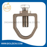 Rod to Taple Clamp Copper Earth Rod and Brass Clamp