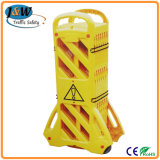 Plastic Portable Barrier, Extensible Traffic Barrier, Folding Traffic Barrier