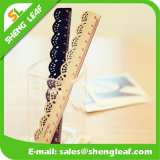 Colorful Plastic Ruler with Cartoon Logo Printing (SLF-RR022)