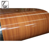 Hot Sale CGCC Wooden Grain Prepained Galvanized Steel in Coil