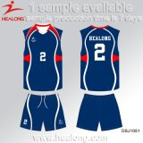 Healong China Cheap Price Sports Gear Digitally Printed Kinds Volleyball Uniforms