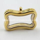 Fashion Stainless Steel Jewelry Glass Locket Pendant