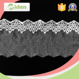 5cm Swiss White Border Knitted Lace for Bridal Dress