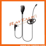 Two Way Radio Boom Mic Headset for Motorola Cp140/Cp160/Cp200/Cp1300